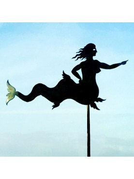 Weathervane - The Roman Siren in iron and copper
