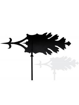 Big Acanthus leaf weathervane