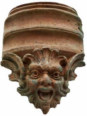Antefix in terracotta early 20th century