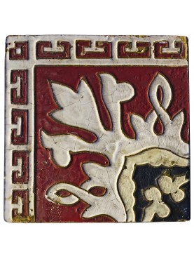 Ancient liberty majolica tile