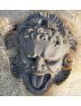 Mascherone Altoviti patina chiara in cemento