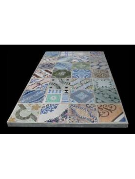 28 tiles table