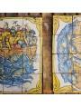 Majolica tile panel - 12 tiles 15x15 cm