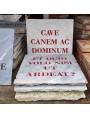 CAVE CANEM AC DOMINUM - Gabriele D'Annunzio