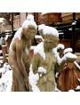 Large bathing woman terracotta statue