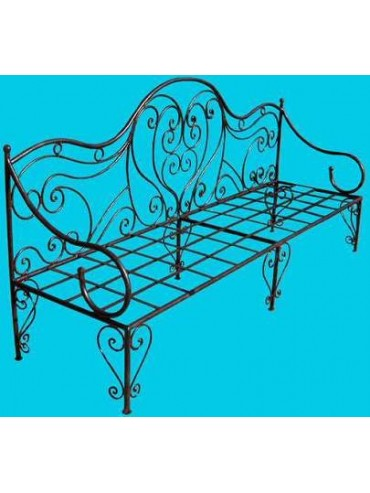 Wrought Iron Day Bed from Provence