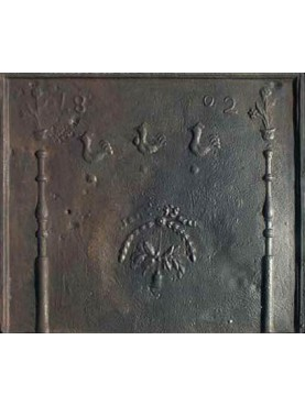 Cast-Iron French Fireback