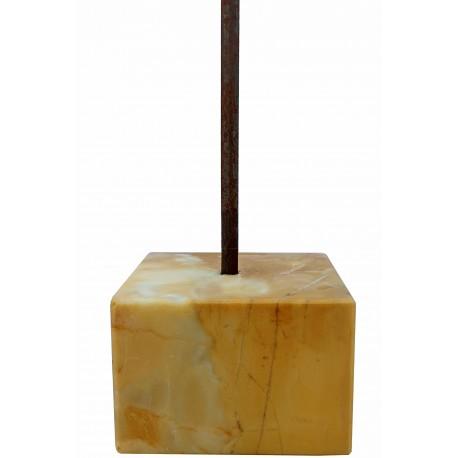 Basetta museale quadrata H9cm/12X12cm