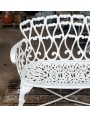 Settee cast-iron small sofa