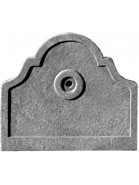 Fontalino in pietra arenaria grigia - pietra serena