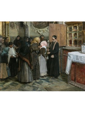 El beso de la reliquia dipinto da Joaquin Sorolla nel 1893