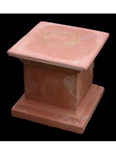 Colonna quadrata H.42cm/44x44cm