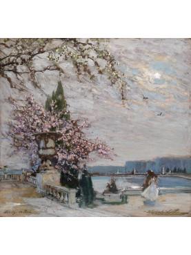 Spring in Versailles Constantin Aleksandrovich Westchiloff, 1938. Russian, 1877-1945
