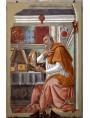 S. Agostino, la chiesa fiorentina di Ognissanti, 1480 Sandro Botticelli