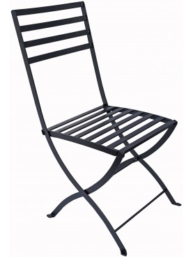 Flexible forged iron chair havy-duty