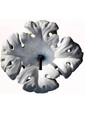 Fiore bianco in Bianco di Carrara