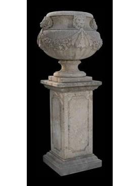 Vaso in pietra