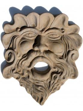COPIA di MASCHERONE antico FIORENTINO in terracotta