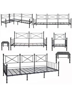 SET DI 7 articoli tra divani, divani-letto, poltrona, tavolo-basso e sgabello