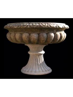 Grande vaso in pietra
