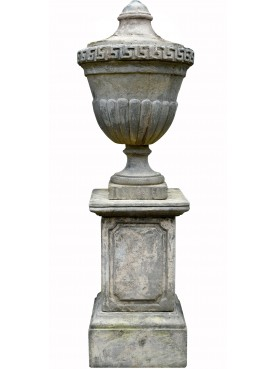Great Imperial concrete ornamental Vase H.130cms