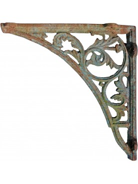ancient Cast iron bracket 85cms