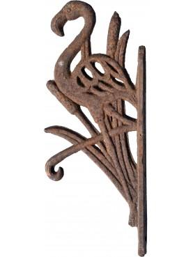Mensolina da macellaio 13 cm antica Liberty in ghisa