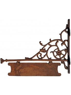 Cast iron brackets 80cms