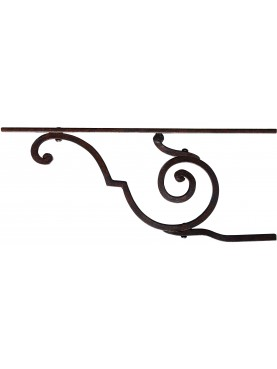 Forged iron bracket