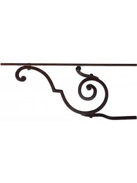 Mensola in ferro battuto