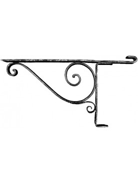 Forged Iron brackets 90cms