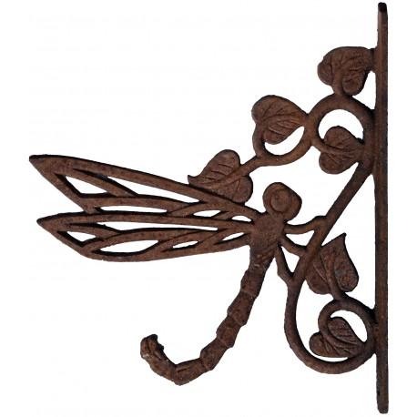 Libellula Mensolina da macellaio Liberty 28cm antica