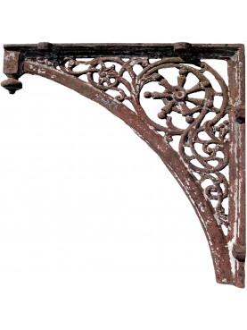 Mensola in ghisa 106cm antica