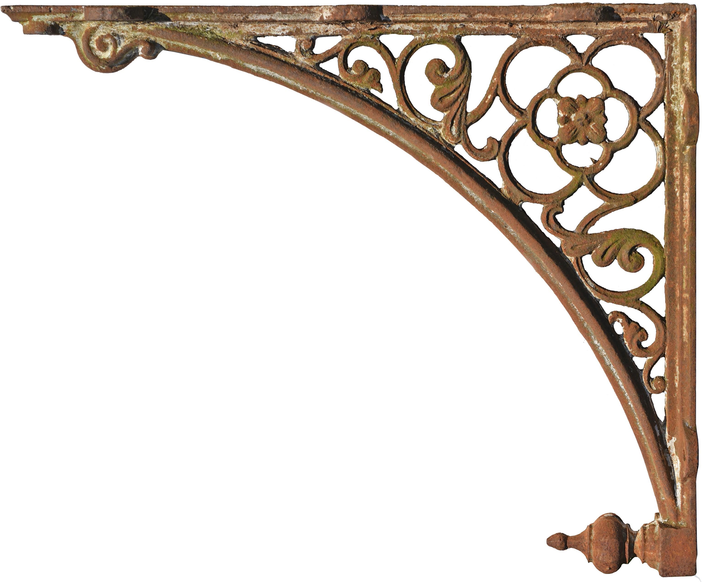Mensole In Marmo Per Termosifoni grande mensola in ghisa 92cm antica di epoca ottocentesca - recuperando