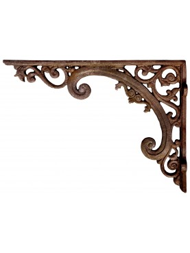 Large cast-iron ancient bracket 82cms