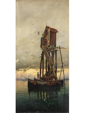 La lanterna della Capannina di Franceschi di Forte dei Marmi (circa 1930)