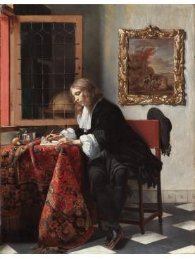 Piastrella in maiolica Delft Hannoversch