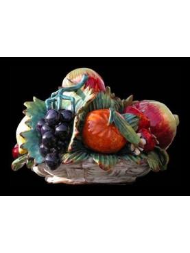 Various fruits big basket