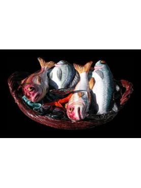 Cestino di pesci misti piccolo