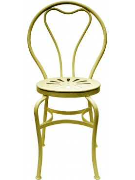 Giallo Limone AC051 finish, Vittorio Corcos chair our production