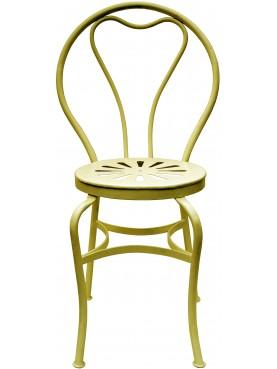 Finitura Giallo Limone AC051, sedia Vittorio Corcos nostra produzione