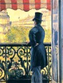 Gustave Caillebotte (Paris, 1848, 1894) Man on Balcony, Boulevard Haussmann, 1880, Private Collection, oil on canvas II.