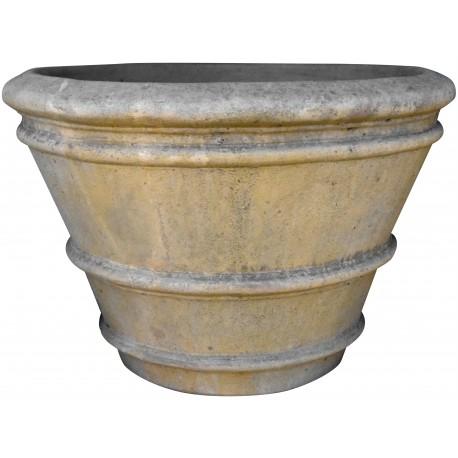 Conca da Limoni Toscana Ø105cm vaso terracotta