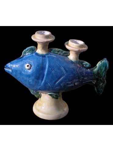 Fish candlestick
