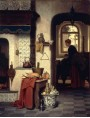 Charles Joseph Grips - In cucina, 1872.