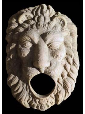 Mask in terracotta Rogatin