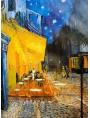 Terrazza del caffè la sera, Place du Forum, Arles è un dipinto del pittore olandese Vincent van Gogh, realizzato nel 1888
