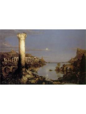 Thomas Cole, The Course of Empire, Desolation183436)