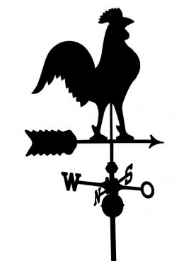 Three-dimensional Goose Weathervane Copper