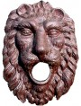 Cast iron lion fountain - Piedmont mask